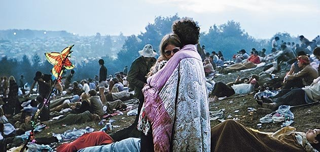 Bobbi Kelly and Nick Ercoline Woodstock 1969