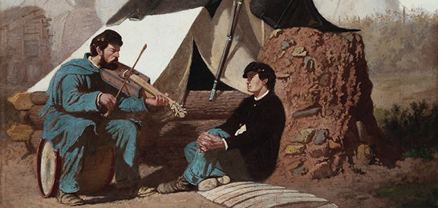 A Civil War Tune by Edwin Forbes