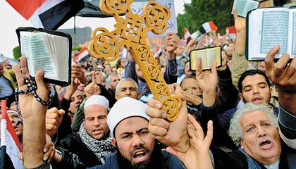 Christians and Muslims in Cairo