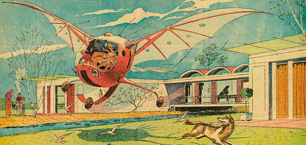 Before The Jetsons Arthur Radebaugh Illustrated The