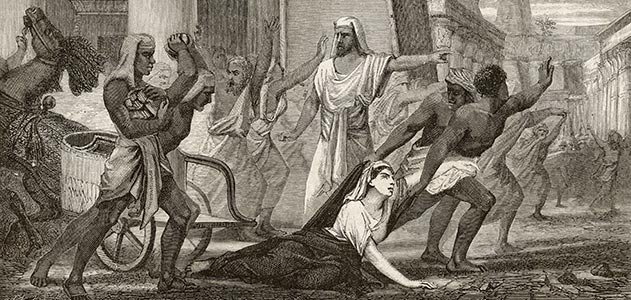 Hypatia murdered