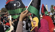 Women rally in Tripoli