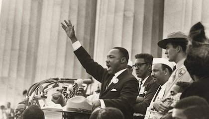 "Photos of MLK at Work: The Civil Rights Leader Before and After His ""I Have a Dream"" Speech"