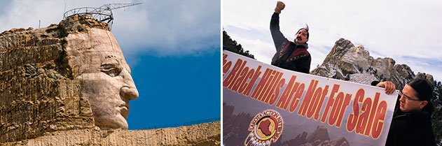 Mount Rushmore protest and Crazy Horse