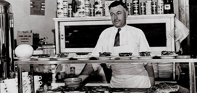 """Louis DeHatre ran a St. Louis diner that attempted to sate the young """"Slim"""" Lindbergh's hearty appetite."""
