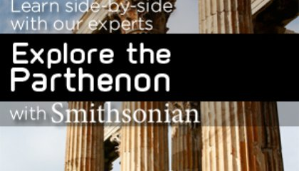 Smithsonian Events Week of June 1-5: Parthenon, Photography, Asia and an Arts Festival