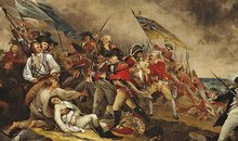 The Death of General Warren at the Battle of Bunker's Hill