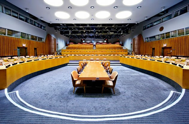 UN Economic and Social Council in New York City