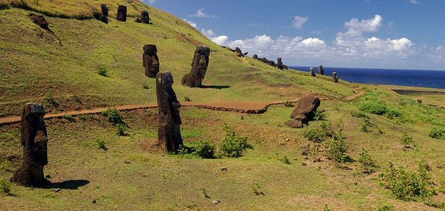 a research of the mystery of easter island Easter island is a small easter island, from the dutch sea captain jacob roggeveen who was the first european to visit on easter sunday, april 5, 1722 ethnographic and linguistic research has conclusively shown this hypothesis to be inaccurate.