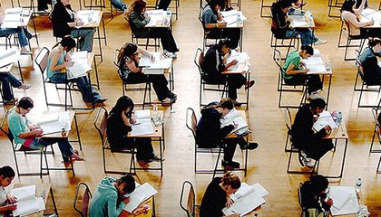 Students taking the SAT's