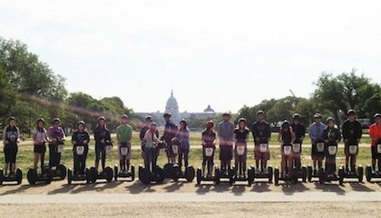 The Best Way to See the Smithsonian? On a Segway, of course