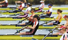 Britain's Olympic womens rowing team