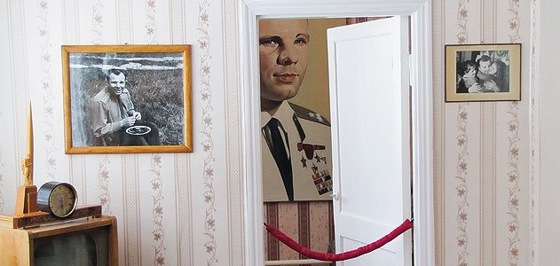 After World War II, Yuri's father Alexei disassembled the family home and moved it to Gzhatsk (now Gagarin), where it is a museum.