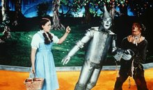 Dorothy, the Tin Man, and the Scarecrow from the Wizard of Oz