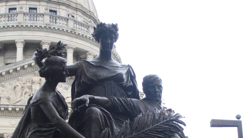Women of the Confederacy statue