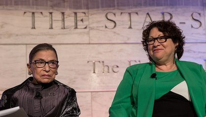 Ruth Bader Ginsburg and Sonia Sotomayor Dig Into the History of Food at the Supreme Court
