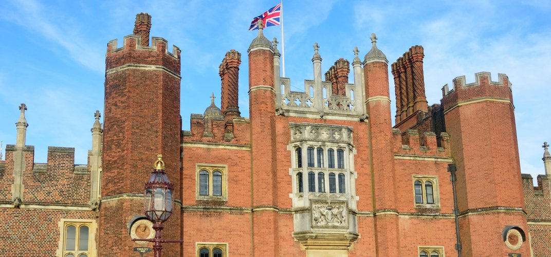 Entrance to Henry VIII's palace at Hampton Court