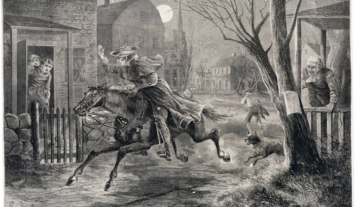 The Midnight Ride of Paul Revere and Some Others