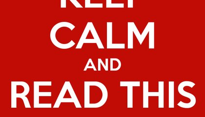 """The Poster That Started the """"Keep Calm"""" Craze is on Sale"""
