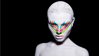 Fashion Photographer Rankin Has A New Book of Models in Wild Makeup