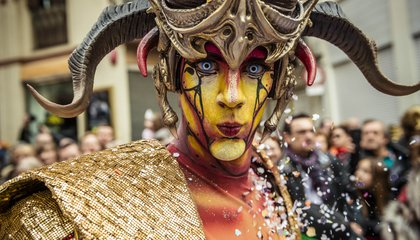 Mad, Wonderful Photos From Mardi Gras and Carnival