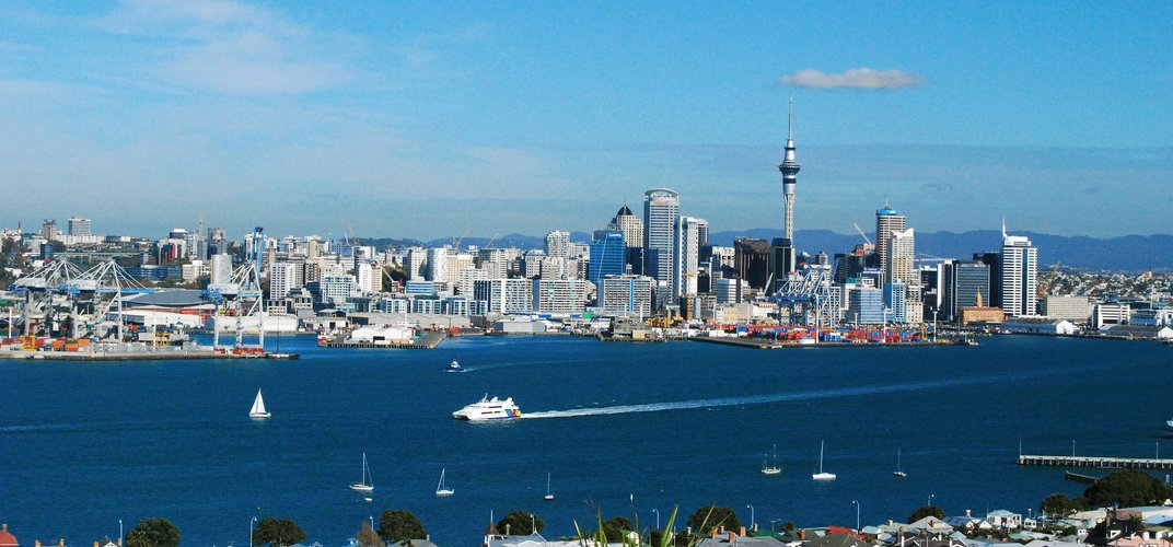 The city of Auckland. Credit: Tourism New Zealand
