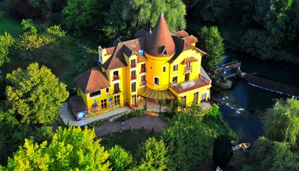 Go Down the Rabbit Hole in This Fantastical French Park