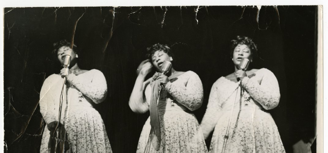 Caption: Young Ella Fitzgerald Just Wanted to Dance
