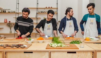Refugees Are Teaching Germans How to Cook Their Traditional Foods