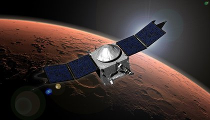 The Sun Stole Part of Mars' Atmosphere, and NASA Was Watching