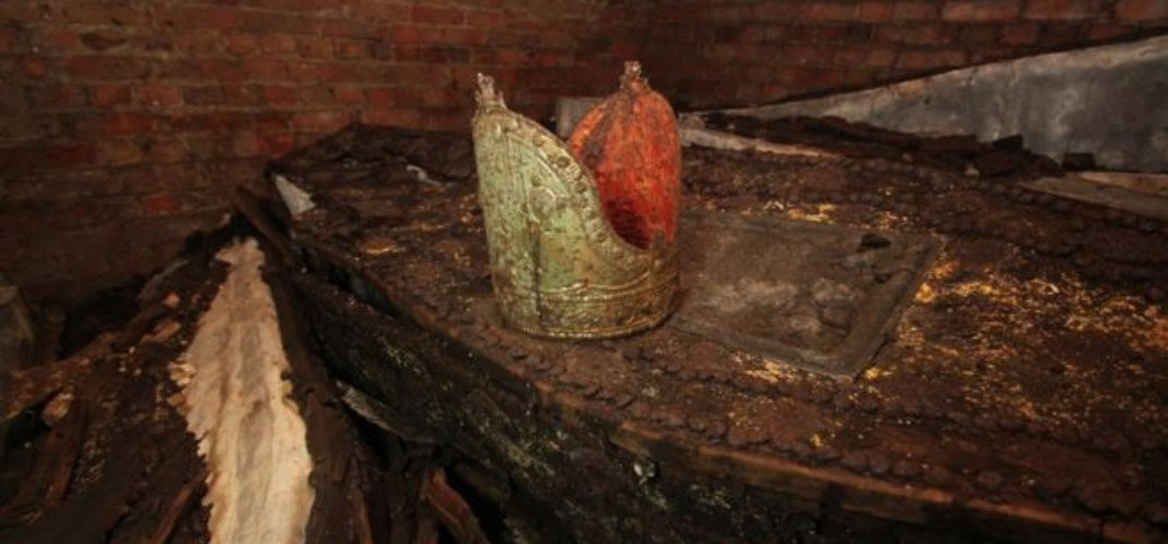 Caption: Builders Find Remains of Archbishops of Canterbury