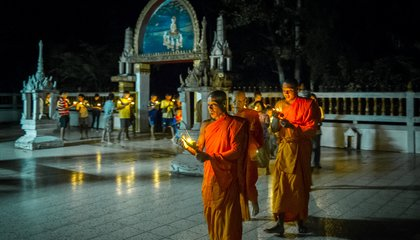 Photos: Vesak, Buddha's Birthday, As Celebrated All Across Southeast Asia