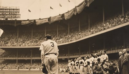 Babe Ruth Hit a Home Run With Celebrity Product Endorsements
