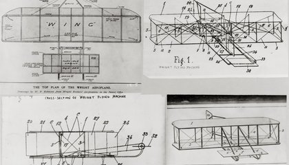 After 36 Years, Archivists Finally Found the Wright Brothers' Airplane Patent