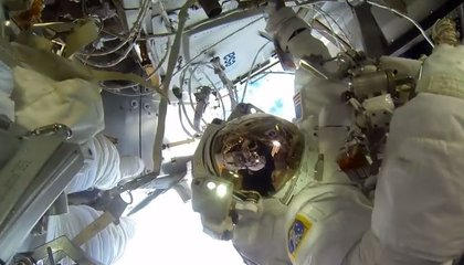 New Eyes on the ISS