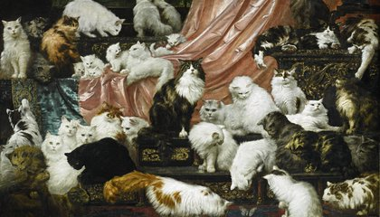 Someone Just Paid $826,000 for the Greatest Cat Painting of All Time