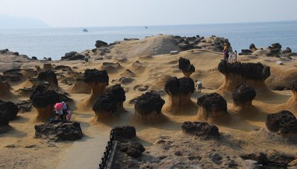 Taiwan's Yehliu Geopark Is Like Disneyland for Rock Lovers