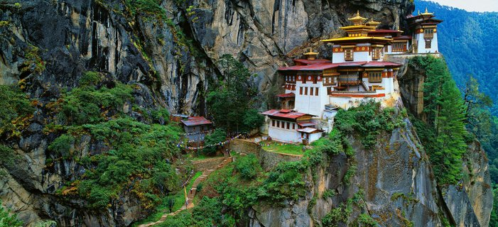 Himalayan Kingdoms <p>Travel to the&nbsp;&ldquo;top of the world&rdquo; in Nepal and Bhutan and meet the people of these distant lands, home to Buddhist monks and Hindu deities.&nbsp;</p>