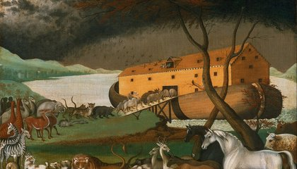 Could Noah's Ark Float? In Theory, Yes