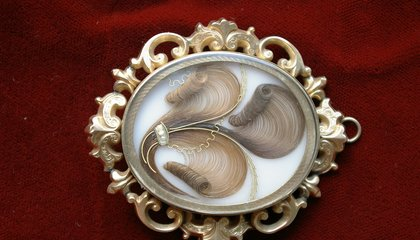 Victorians Made Jewelry Out of Human Hair