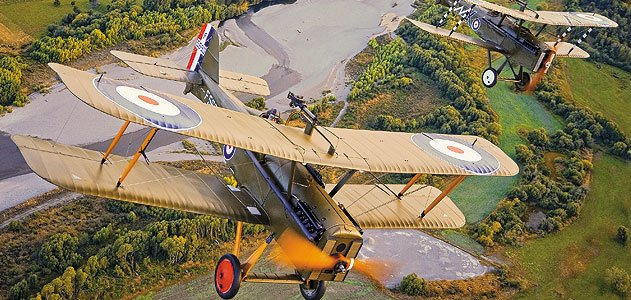<b>Royal Aircraft Factory S.E.5a</b> Its initials stand for Scout Experimental, but the S.E.5a was one of the most effective fighters of World War I. At about 135 mph, it was faster than most airplanes it came up against and was flown by four of the Unite