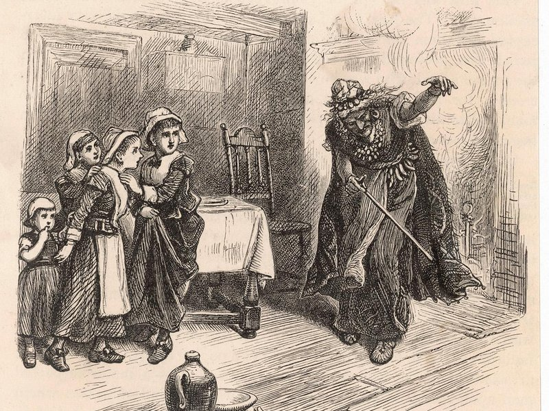 Salem witch trials court papers