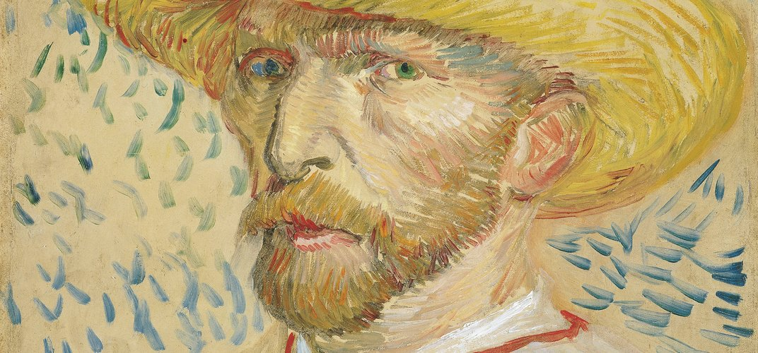 Self-portrait of Vincent Van Gogh. Credit: Netherlands Tourism Bureau