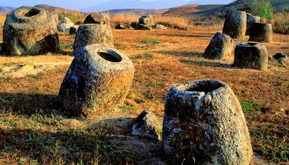 Ancient Urns or Drinking Vessels for Giants? Behind the Mysterious Plain of Jars in Laos