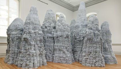 What Do One Million Index Cards, Stacked Atop Each Other, Look Like? Artist Tara Donovan Does It Again