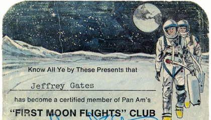 "I Was a Card-Carrying Member of the ""First Moon Flights"" Club"