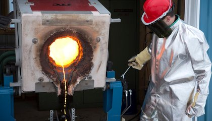 Watch Scientists Make Their Own Lava