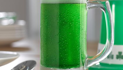 The First Green Beer Was Made With Laundry Whitener