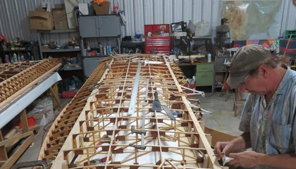 Wooden Wings, Made by Hand