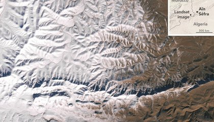 Snow Falls in the Sahara for the First Time Since 1979